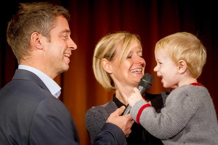 Portrait-Familienfoto